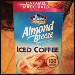 Almond Breeze Caramel Macchiato