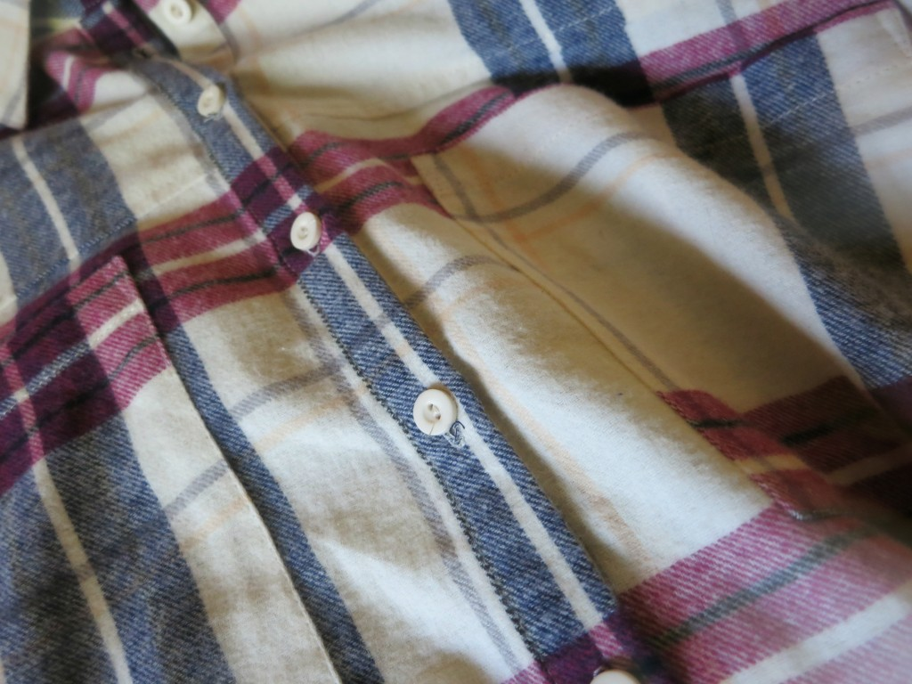 Red White & Blue Flannel