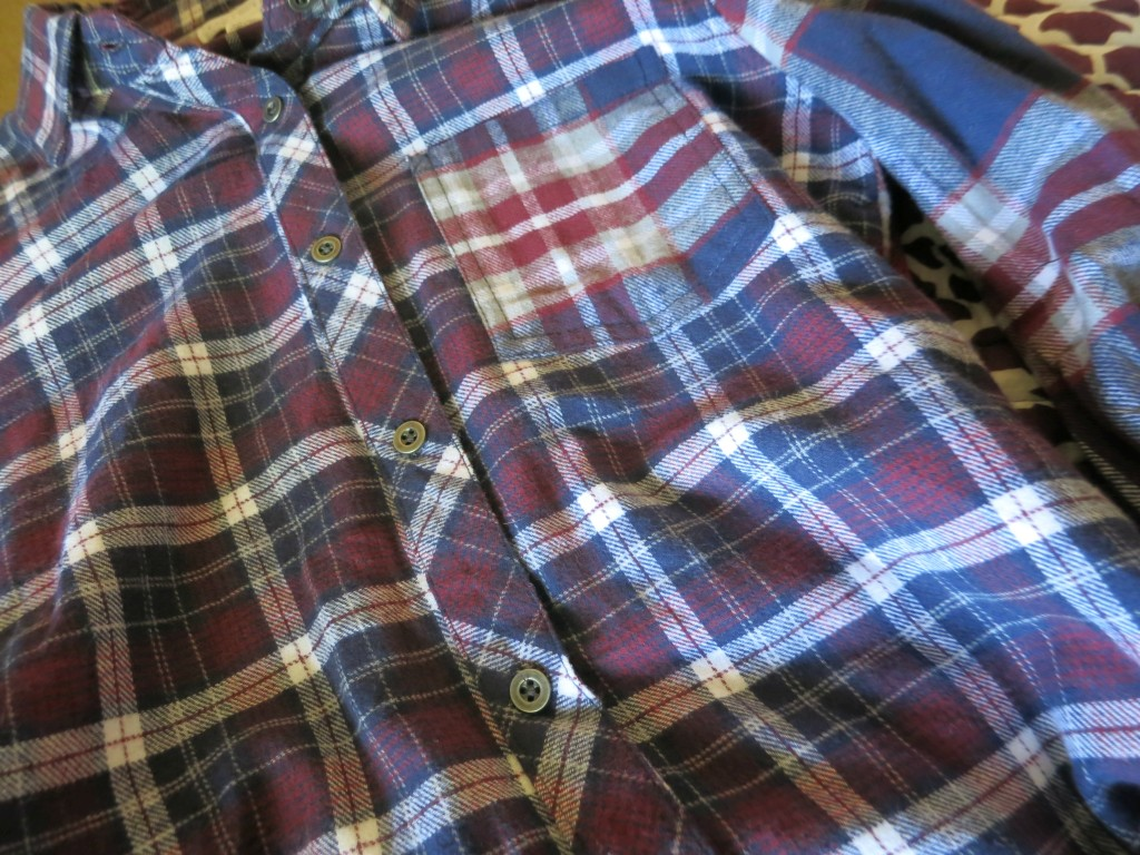 Red White & Blue Flannel 2
