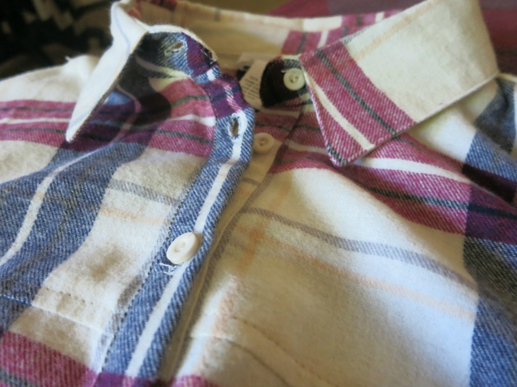 Red White & Flannel left view