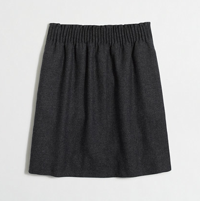 JCrew Factory Mini Skirt in Herringbone