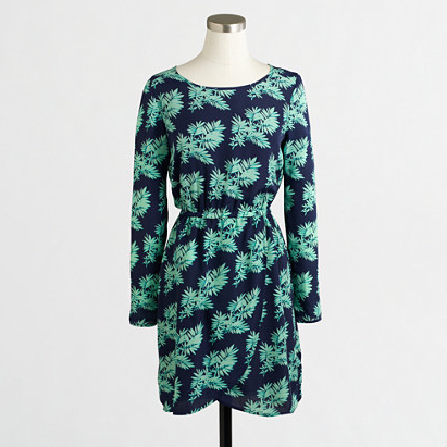 JCrew Factory Tulip-Hem Dress
